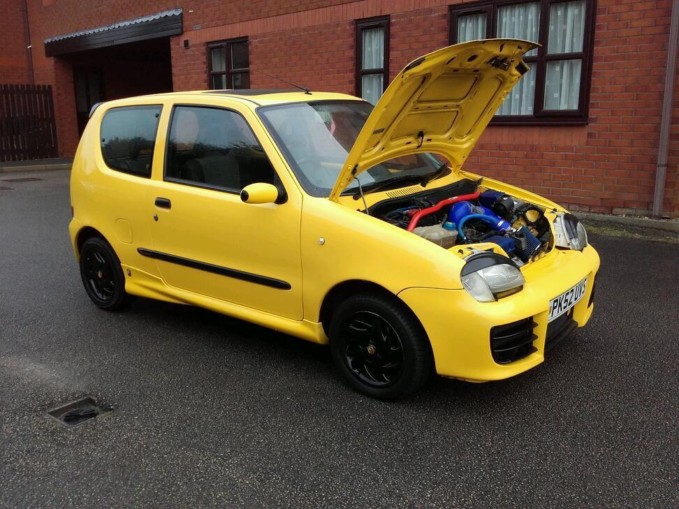 2002 FIAT SEICENTO SPORTING *ABARTH STYLING* 1.1 MANUAL ...