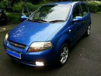1.4 AUTOMATIC Chevrolet Kalos with FSH. Genuine 50k low milage and parking sensors