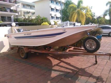 05 Hornet 435 high sided tinnie with extras Nightcliff Darwin City Preview