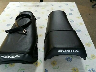 HONDA(n8) XL250S XR250 XL500S 1978 TO 1981 MODEL SEAT COVER  PLUS STRAP (H194)