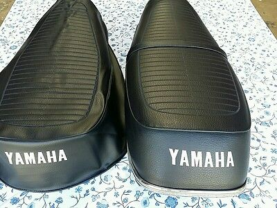 Yamaha(n10) RD350 RD 350 1972 TO 1975 MODEL Seat Cover  WITH STRAP Black  (Y19)