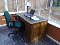 Office Chair, Green, fully adjustable, excellent condition