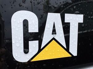 Caterpillar Decals EBay - Truck windshield decals   how to purchase and get a great value safely