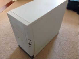 PC tower - AMD Processor, MSI Motherboard, DVDR/RW drive, graphics, onboard Sound