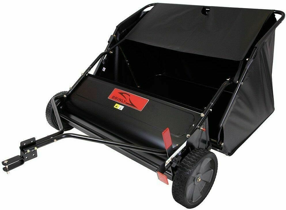 Brinly STS-427LXH 20 Cubic Feet Tow Behind Lawn Sweeper, 42-