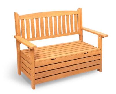 Darcy Wooden Outdoor Storage Bench
