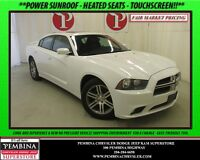 2014 Dodge Charger SXT *POWER SUNROOF, HEATED SEATS, TOUCHSCREEN