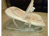Baby rocking seat, bouncy chair