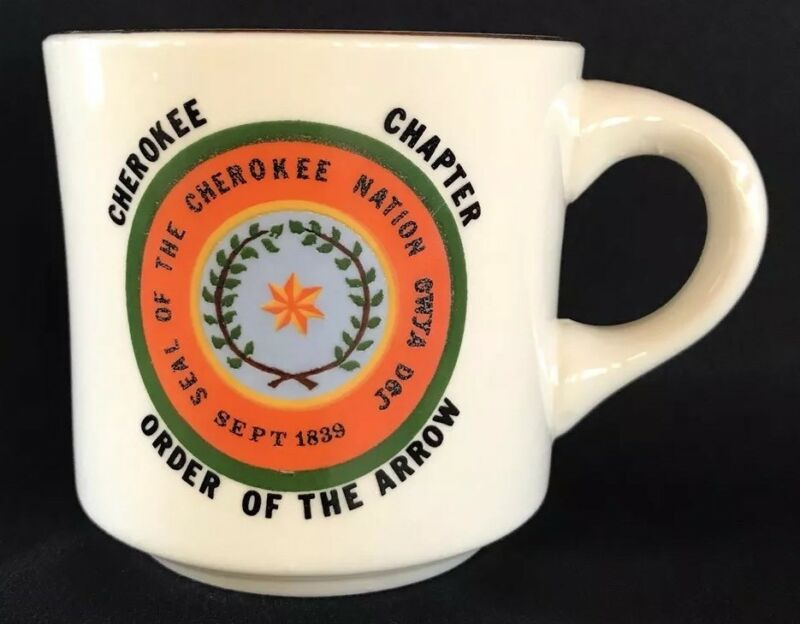 Vintage Boy Scout Order Of The Arrow Cherokee Chapter