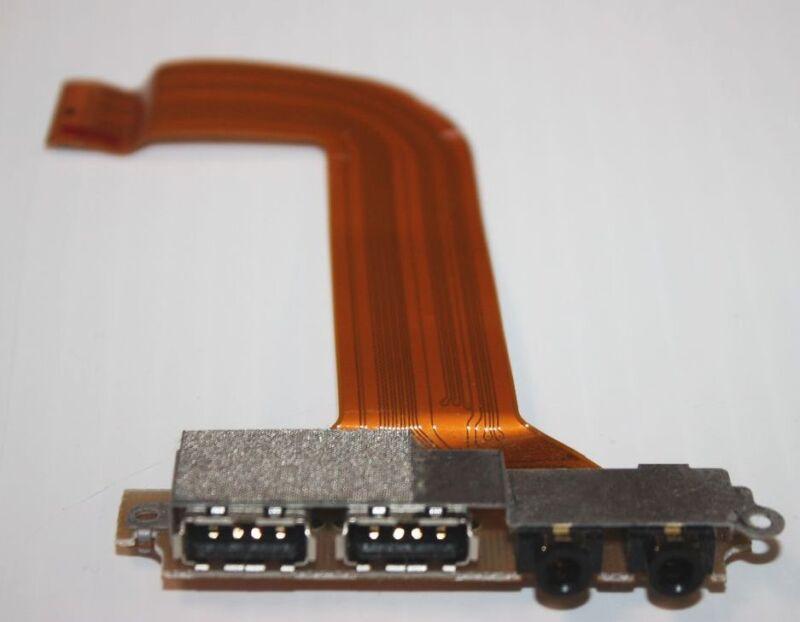 Audio/usb Port Board & Cable Cp065395--fujitsu Lifebook 2630/2620 Tablet Laptop
