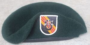 9540d24afd2 Authentic New US Army 5th Special Forces Group Green Beret