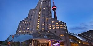 One night stay at Intercontinental Hotel Toronto