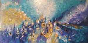 Original Italian Abstract - Oil on Canvas Mosman Mosman Area Preview