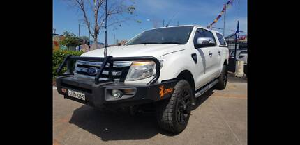 2012 Ford Ranger XLT HIRIDER Turbo Diesel 3.2L 6 speed Liverpool Liverpool Area Preview