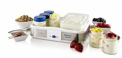 Oster CKSTYM1010 Mykonos Greek Manual Yogurt Maker, 2-Quart New