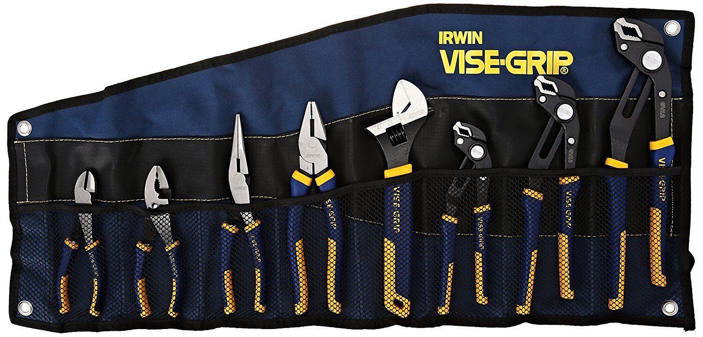 8 Pc Groovelock/Propliers Kit Bag Set