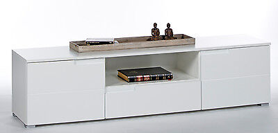 tv unterschrank olio 121 cm kiefer massiv wei. Black Bedroom Furniture Sets. Home Design Ideas