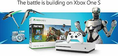 New and Sealed Microsoft Xbox One S 1TB Fortnite Console Bundle  White