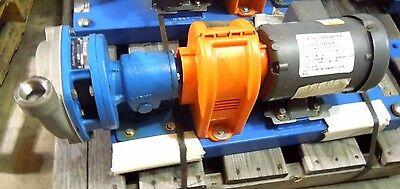 Goulds Pump 1ssfrme0 1 X 1-14 Npt 316ss 12 Hp Motor 230460 1725 3 Ph 021wh