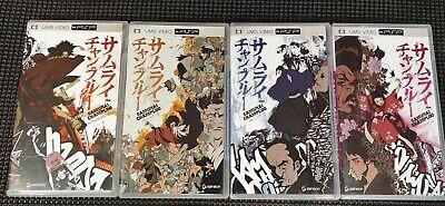 UMD Movie Lot of 4: **SAMURAI CHAMPLOO Episode 1 & 2, Volume 2, 3 & 4**