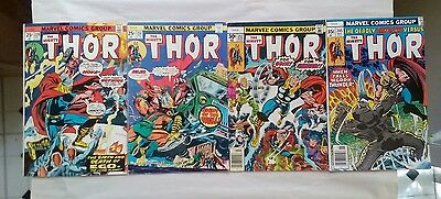 THE MIGHTY THOR comic book lot(Marvel,1970s)