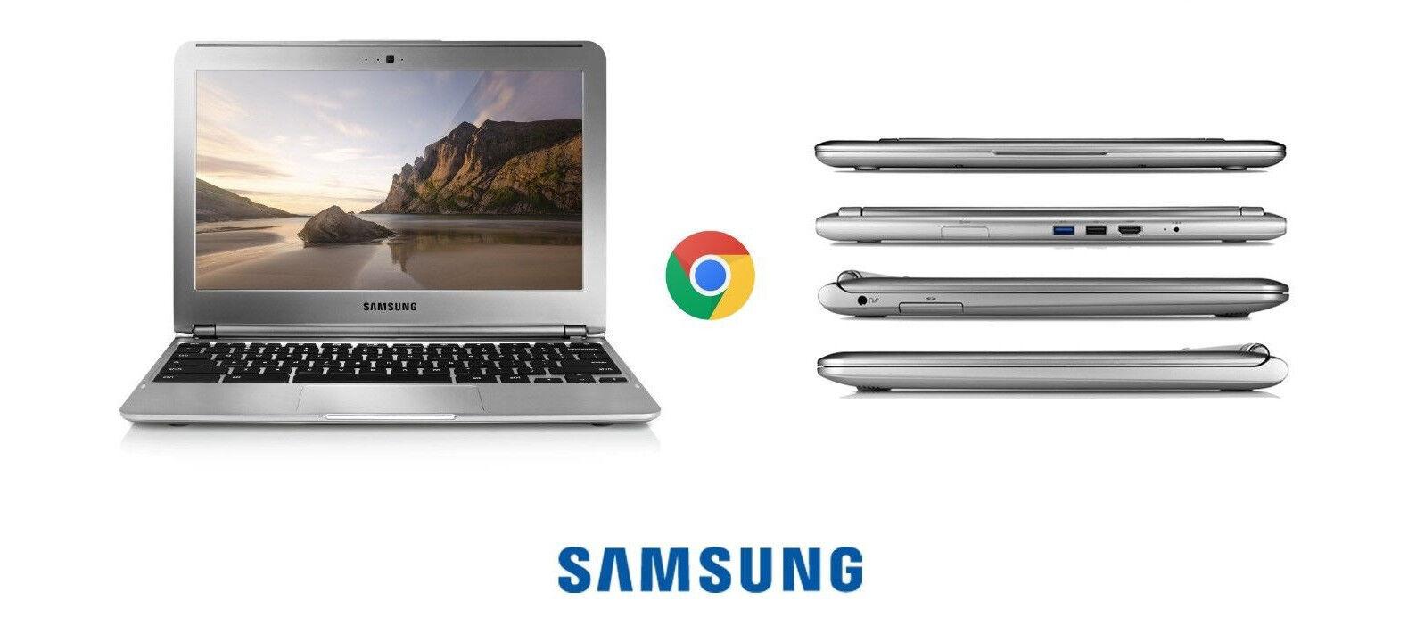 LOT OF 4 pcs SAMSUNG Google Chromebook 11.6 Laptop 1.7GHz XE303C12 screen issues