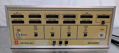 Veeco Ion Tech Mps3000hc Ion Gun Power Supply Controller Spector Uhv Mks Amat