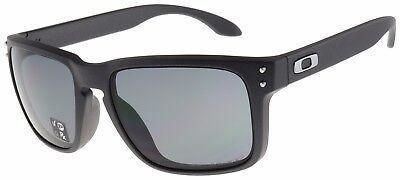 Oakley Holbrook Sunglasses OO9244-12 Steel | Grey Polarized | Asia Fit | BNIB