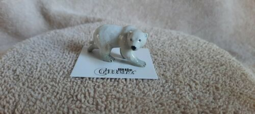 "LITTLE CRITTERZ Polar Bear ""Beaufort"" Miniature Figurine New LC877"