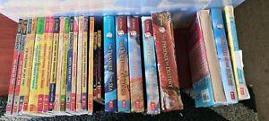 Geronimo Stilton and Thea Stilton books (varied prices)