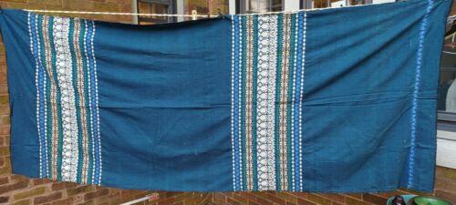 Vtg. Hand Loomed Guatemalan Fabric