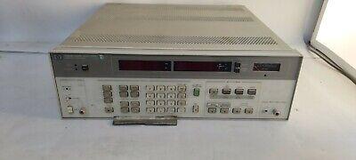 Hp Hewlett Packard 8903b Audio Analyzer Make Offers