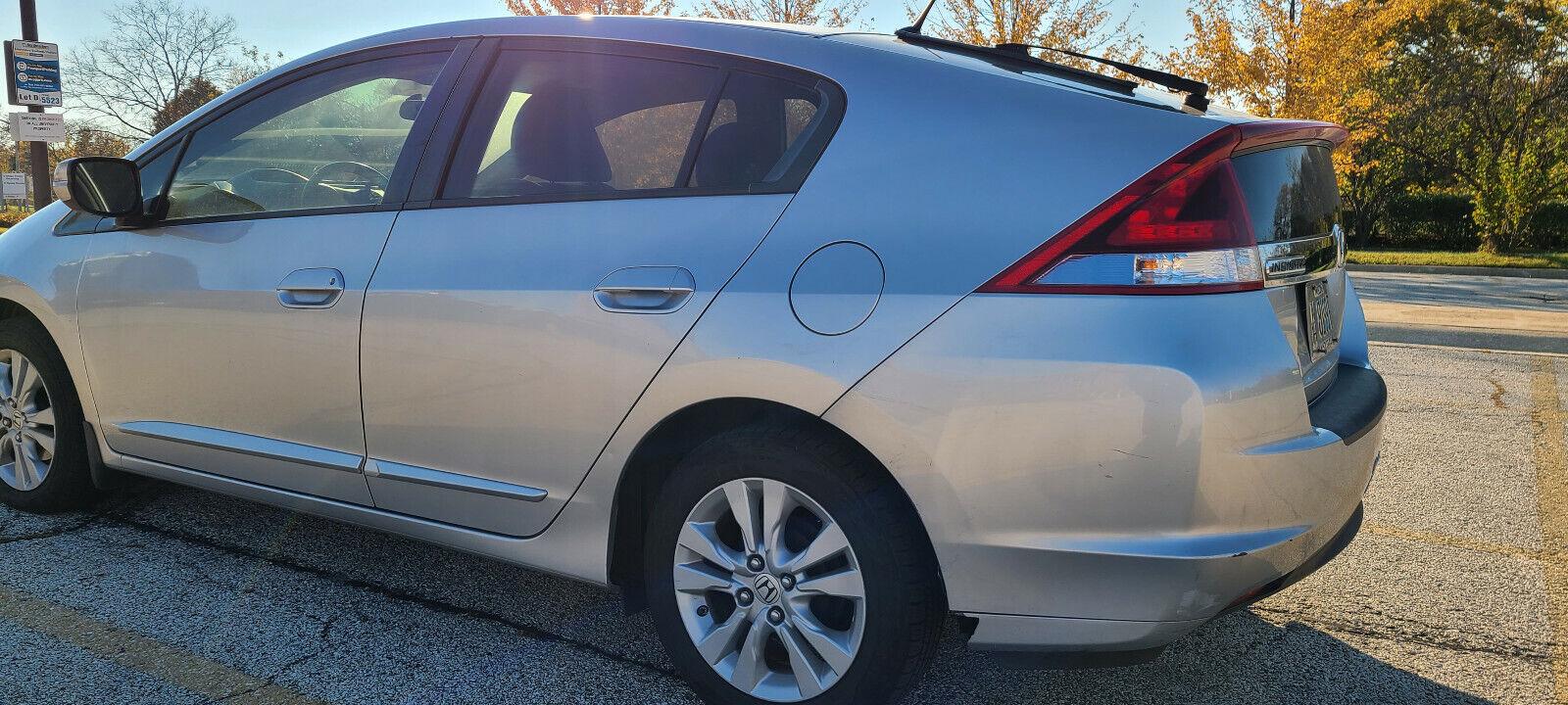 2013 Honda Insight Ex Alabaster Silver Metallic