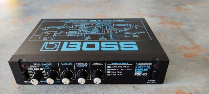 Boss Digital Sampler/Delay RSD-10