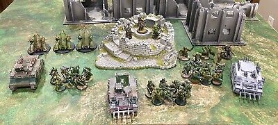 Games Workshop Warhammer 40K Chaos Nurgle Death Guard Army Painted (No MBH)