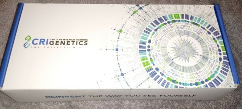 CRI GENETICS CELLULAR RESEARCH INSTITUTE DNA COLLECTION KIT
