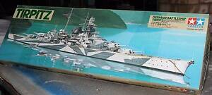 Tamiya 1/350 78015 Tirpitz German Battleship Model Kit -Motorised Beachmere Caboolture Area Preview