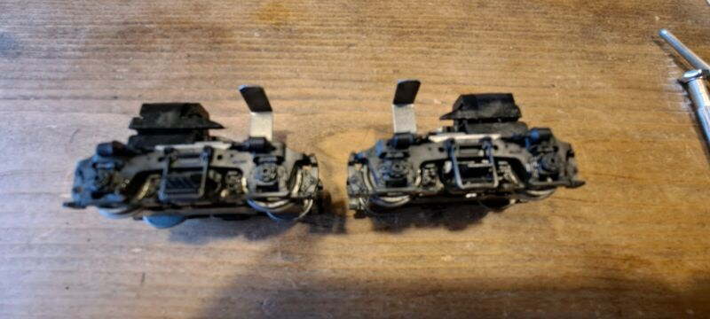 athearn parts Blomberg B geared trucks