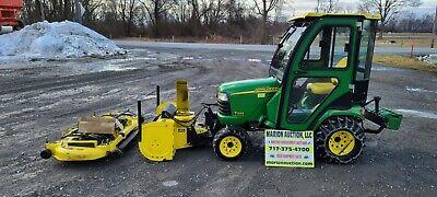 2005 John Deere X595 Lawn Mower. 352 Hours Cab Blower Mower Deck Included