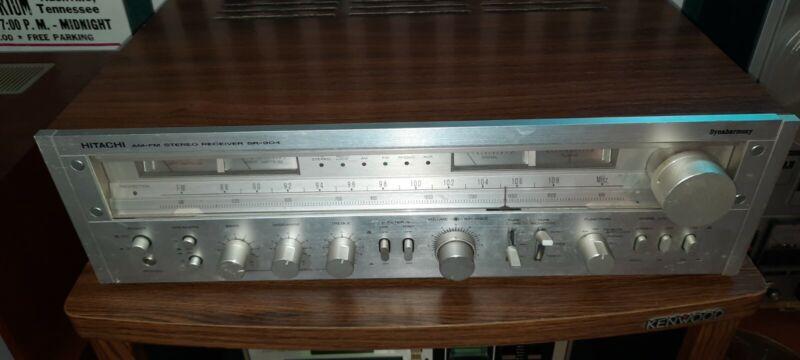 Hitachi  Sr 904 Stereo Receiver Amplifier Vintage 1970