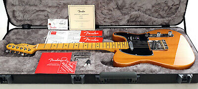 Fender American Professional II Telecaster Electric Guitar - Roasted Pine
