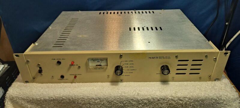 Marti Electronics CR 10 remote audio receiver RX unit CR-10 tan