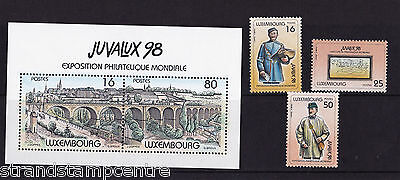 Luxembourg - 1998 Juvalux (2nd Issue) - U/M - SG 1475-7 + MS1478
