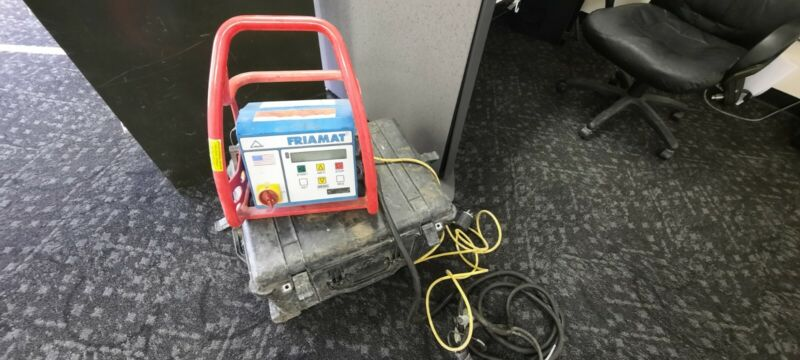 Friatec Friamat Electrofusion Machine With Large Case - Works Well