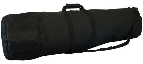"""53"""" Black Metal Detector Bag, 2 Pockets, Adjustable Strap, XL Size"""
