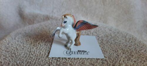"LITTLE CRITTERZ Winged Horse ""Pegasus"" Miniature Figurine New LC623"