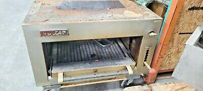 Vulcan Sar34 Gas Salamander Broiler With Adjustable Pullout Shelf - 4 Over Oven