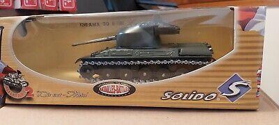 SOLIDO FRANCE 6246 TANK AMX 30 BI TUBE NEUF EN BOITE