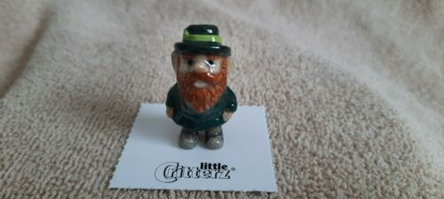 "LITTLE CRITTERZ Leprechaun ""Fergus"" Miniature Figurine New FREE SHIPPING LC931"