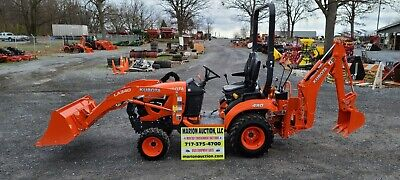 2020 Kubota Bx23s Compact Loader Tractor Wbackhoe. Only 22 Hours Warranty